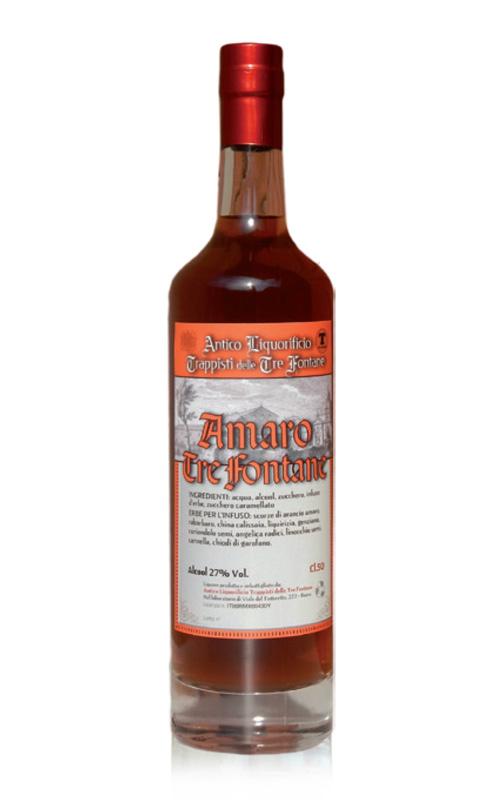 Amaro tre fontane for Un liquore tonico